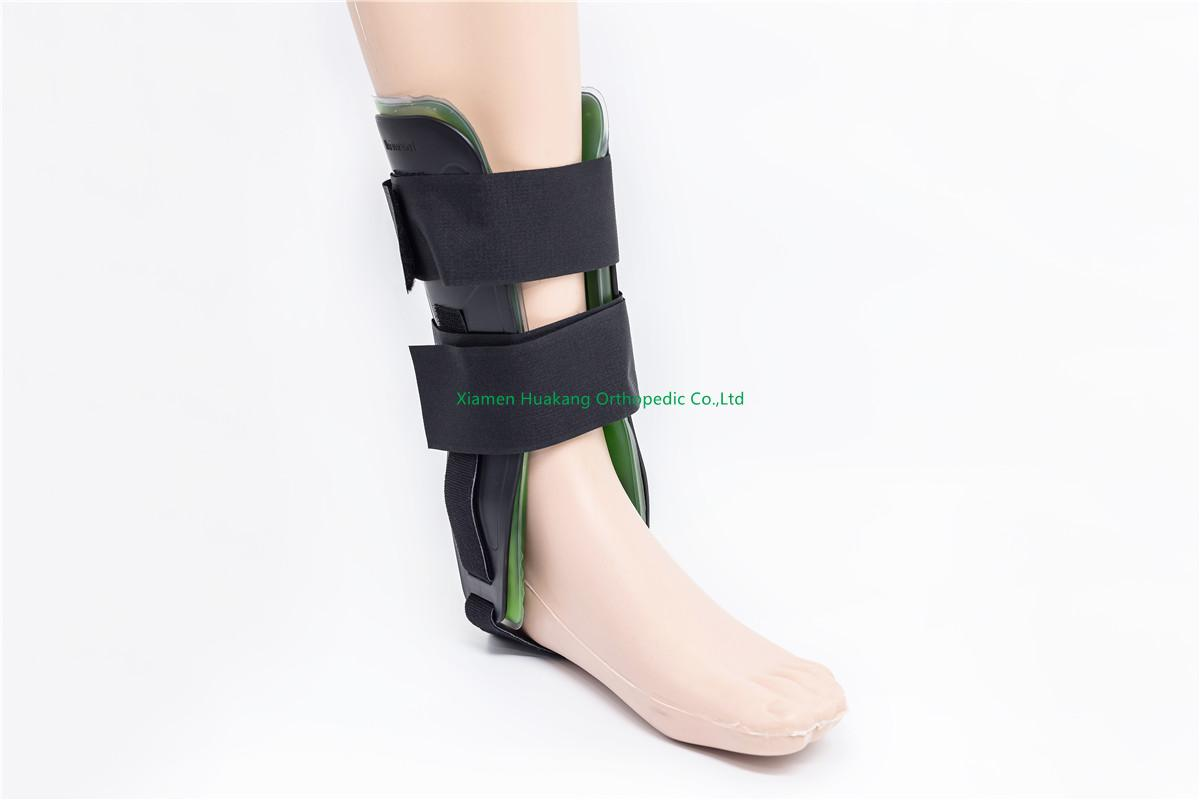 silicone gel heel and ankle sleeve braces